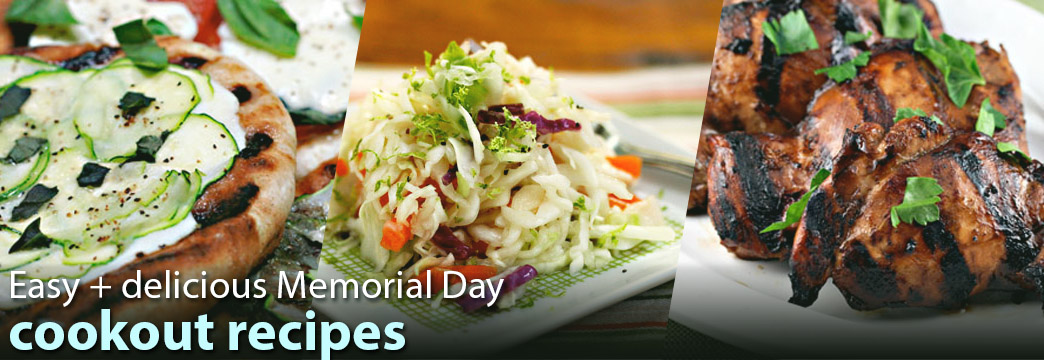 Easy, Healthy + Delicious Memorial Day Recipes